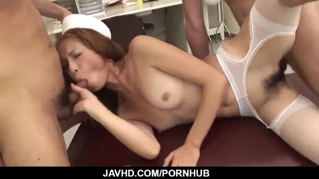 Shiori Ayase loves cock in her furr — More at javhd.net