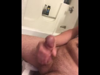 GIANT EXPLOSIVE cum shot from edging