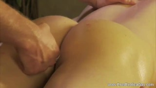 Massage explorations anal shaved uncut