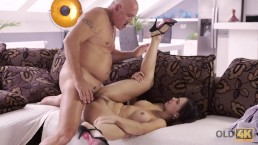 OLD4K. Horny latina chooses experienced men