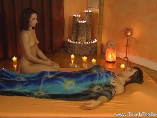 Sweet Learning Handjob Massage