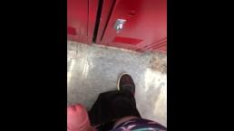 Jerking in the locker room