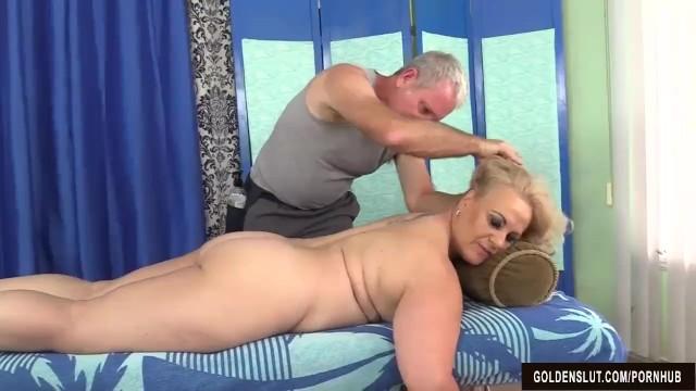Summer mature Older blonde summer has her body and genitals massaged