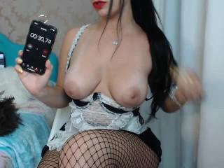 Pornstar/big ass brazilian/empregada domestica jerk de off