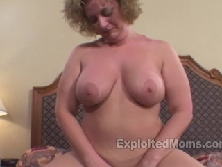 Porn preview mom with big ass gets a big black cock in amateur interracial sex video