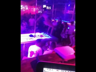 ZipLock305 throwing Money on Strippers at Booby Trap Doral