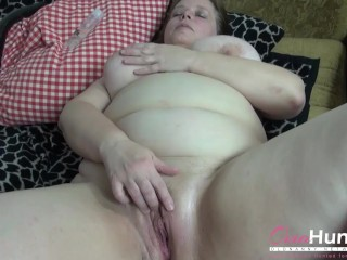 OmaHunteR BBW Mature and Teen Threesome Footage