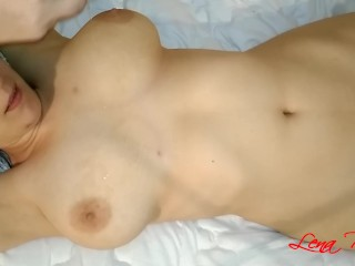 Oil Massage of my boobs and booty