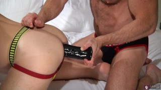 "Young Man! Fist Or 10"" Black Toy? Daddy Does Both Doggystyle small"