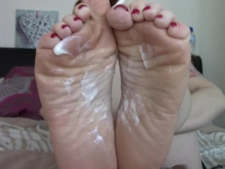 JOI CEI For Mommys Feet StepSon! Wrinkled Soles POV