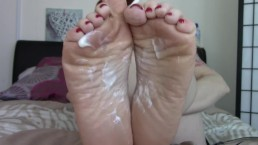 JOI CEI For Mommys Feet Son! Wrinkled Soles POV