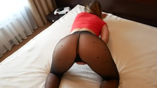 Stepsis ride on fat cock stepbro-homemade porno