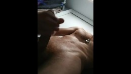 Stroking mixed dick