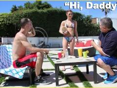 DON'T FUCK MY DAUGHTER - Chris Strokes Sneaks Into Teen Alaina Dawson's Roo