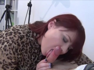 Fat Girl Donna Austin Loves Sucking Cock
