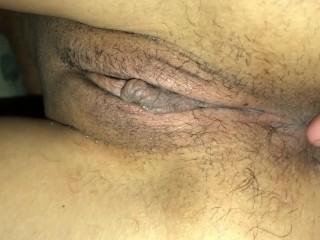 Fingering 18y/o latina till she cums