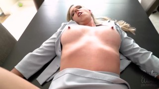 Blackmailed Principal Ass in