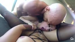Kissa Sins & Katrina Jade, Crazy Pussy and Cock Whores, Both Get CreamPies!