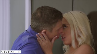 VIXEN Horny Teen Fucks Her Married Neighbor Voyeur virgin