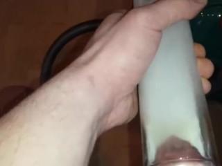 vacuuming piss