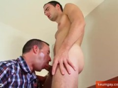 Full-video:Ben, real str8 french male gets sucked by a guy in spite of him.