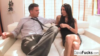 Ends that couch with creampie bradley casting with a big hardcore
