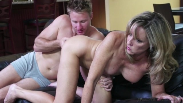 Step Mom Aunt Fucks Son