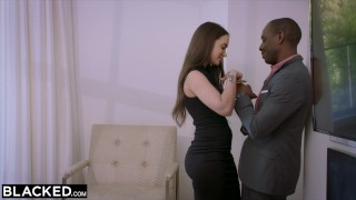 BLACKED Fiancé Lies and Cheats To Have BBC for A Weekend Blowjob jav