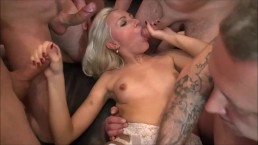 My private Gangbang in Berlin (Helena Moeller)