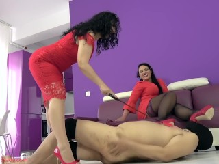 Shoe worship training with Mistress Luna Preview