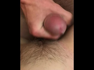 He fucks my tight pussy and cums early
