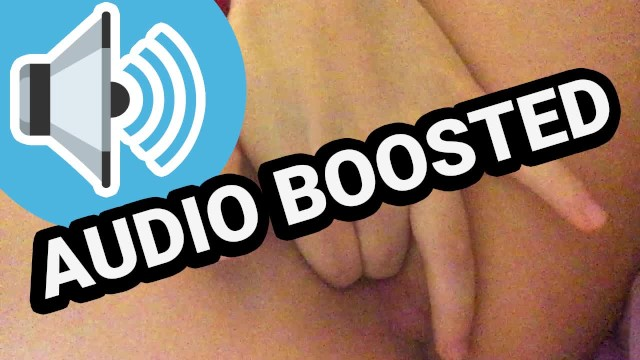 Erotic audio sound clips Wet pussy sounds audio boosted asmr
