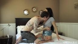 Gina Valentina Intense Orgasm Sex Tape and Cum in Mouth Finish