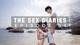 I cum on her tits at THE BEACH | The Sex Diaries 04