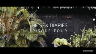 I cum on her tits at THE BEACH  The Sex Diaries 04 Tits 4k