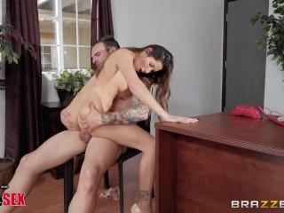 Brazzers Presents 1800 Phone Sex Line: 9, Clea Gaultier