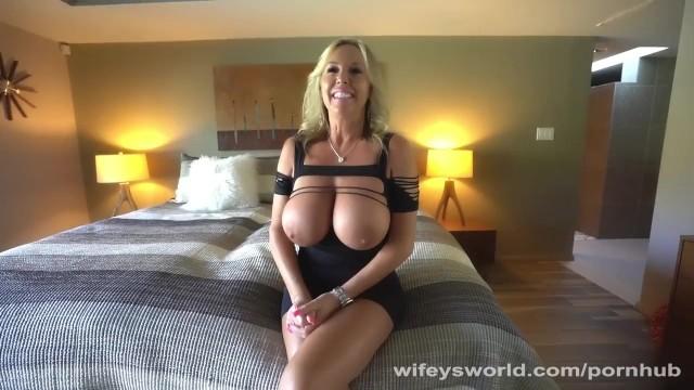 Wifey world handjob Naughty wifey gets a deep fuckin and cum facial