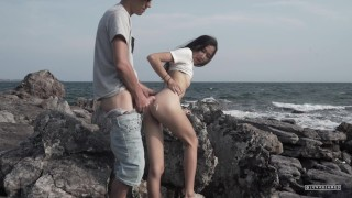 Alone on AN ISLAND!  The Sex Diaries 03 Fingering and