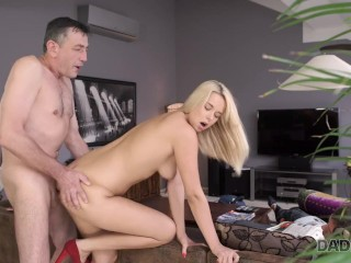 DADDY4K. Don't tell her bf that she fucked his dad