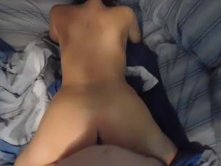 Angelica saige creampie long dick pounding pussy hardcore moaning loud she cant take it pov r