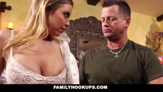 FamilyHookUps - Cheating Husband Fucks His Therapist Sister-In-Law