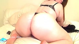Hayden fucks her bootyhole and hairy BBW pussy then makes that pawg butt tw