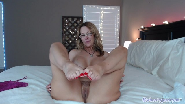 Quickie Count Down Cum On Toes Camgirl Milf Jess Ryan -9893