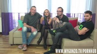 Teen Kami Karol Gets Group Busted By Dieter Von Stein & Friends (Interview) Butt shaking