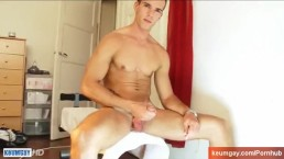 Damien, French straight guy serviced by us in spite of him