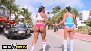 BANGBROS - Roller Skating Latina MILF Rachel Starr Gets Her Big Ass Fucked