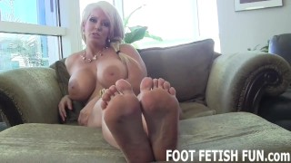 Foot femdom humiliation licking and foot of kink
