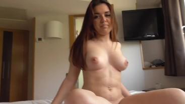 Diana Rius Follando En Su 1er Video Porno, Jovencita Española De 18