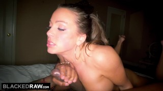 BLACKEDRAW Abigail Mac's Husband Sets Her Up With Biggest BBC In The World Pussy cowgirl