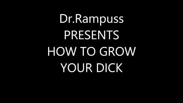 How to make my penis size grow - How to grow your penis in 30 days.